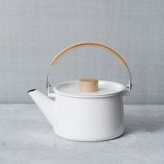 west elm ENAMEL TEA POT