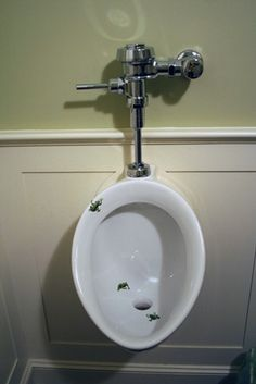 Bathroom Urinal fish urinal. it makes it difficult.. | original toilets