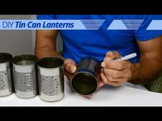 In this how-to video Jon, of ForRent.com, shows you how to make your own custom DIY #tin can #lanterns that you can use to light your way into the new year this #winter!