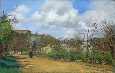 CP 1869-70 View from Louveciennes 1d fl uuhr - London NG | par petrus.agricola