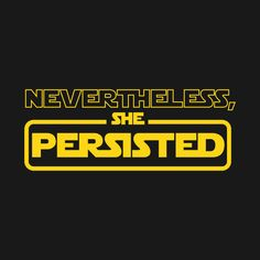 Check out this awesome 'Nevertheless...' design on @TeePublic!