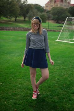 corduroy skirt for early spring