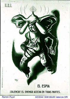 Spain - 1936. - GC - poster - Ramon Puyol