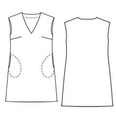 Платье - выкройка № 107 B из журнала 6/2011 Burda – выкройки платьев на Burdastyle.ru