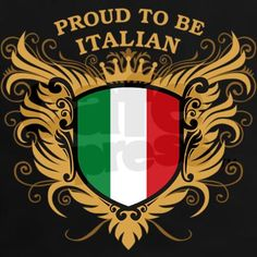 prond to be italian | Cool Gifts > Cool T-shirts > Proud to be Italian Women's Dark T-Shirt