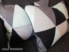 Skal have overtalt mor til at lave patchwork puder til soveværelset
