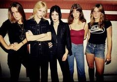 The Runaways from Greatest Girl Bands on PerezHilton