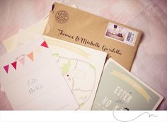 DIY Wedding Invitation… Handmade by the Bride!