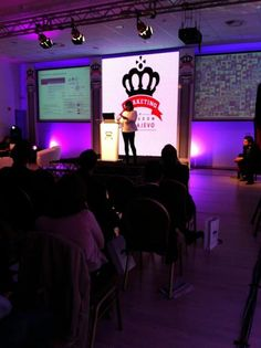 The Sarajevo Marketing Kingdom @DelphineRB on stage 21/05/12 #thesocialbureau