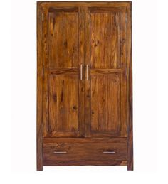 Armadio Due Porte Acacia Legno WD-6005205 X 104 X 60 CM | Arts of ...