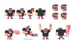 illustrator character design - Google 검색