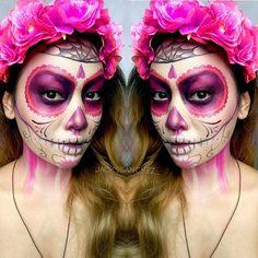 GlamCandy Spotted : @jackssanchez_ @jackssanchez_ I am loving Jackie's Día de Muertos and Sugar Skull MakeUp Collaboration, so amazing  #asianglamcandy  | #asianglamcandybeauty
