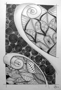 zentangle by kristin (she does awesome work!) found at http://indulgy.com/post/7ZGaHVCME1/zentangle#