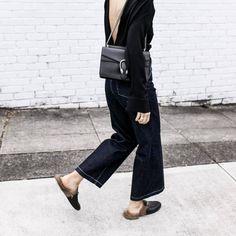 Top: tumblr black open back backless backless bag black bag chain bag gucci gucci bag dionysus denim