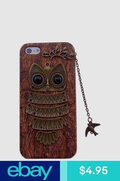 Cases, Covers & Skins Cell Phones & Accessories #ebay Iphone 5s, Iphone Cases, Phone Decals, Cell Phone Accessories, Owl, Bird, Unique, Handmade, Ebay