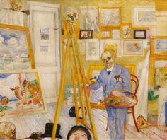 James Ensor, Skeleton Painting, 1896.