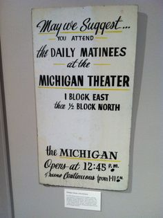Who saw their first movie at the Michigan Theater? #JacksonHistory #MichiganTheater http://www.michigantheatre.org/history/