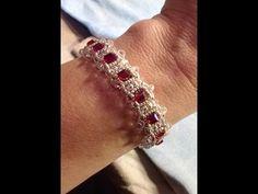 Royal Beauty Bracelet Tutorial - YouTube