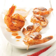 Buttery Grilled Shrimp Recipe from Taste of Home -- shared by Sheryl Shenberger of Albuquerque, New Mexico