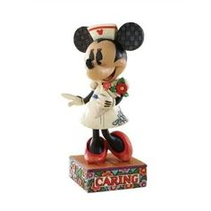 Jim Shore's crafted Minnie Mouse