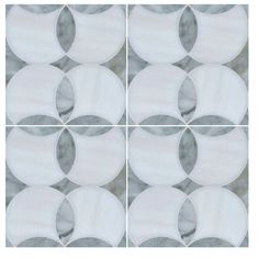 Kitchen & Bathroom Carrera Vinyl Tile Sticker Pack by QUADROSTYLE