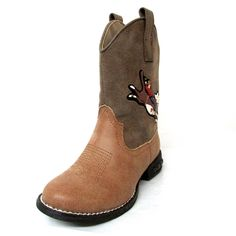 Roper Kids Western Lights Bull Rider Boots 09-018-1201-1227 Rider Boots, Bull Riders, Cowboy Boots, Westerns, Chelsea Boots, Ankle, Lights, Kids, Shoes