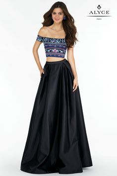 Alyce Prom | Dress Style #6817 Front of dress