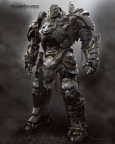 Transformers: The Last Knight - Guardian Knight Concept Art By Furio Tedeschi - Transformers News - Transformers 5, Transformers Decepticons, Transformers Collection, Transformers Masterpiece, Transformers Characters, Armor Concept, Concept Art, Space Opera, Last Knights