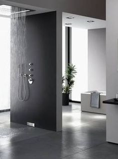 Modern shower by Geberit