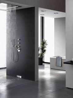 Modern shower by Geberit