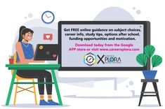 Chat for FREE to a live career facilitator today about your options after school! 😃 #careeroptions #postmatric #careerinfo #careerguidance #careerxplora Google App Store, Career Options, After School, Study Tips, Opportunity, Motivation, Live, Career Choices, College Tips