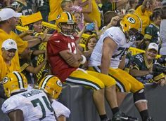 the whole offense does Lambeau Leap