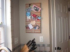 DIY Jute bulletin board