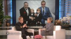 Elton John Opens Up to Ellen About Being a Husband and Father – WATCH