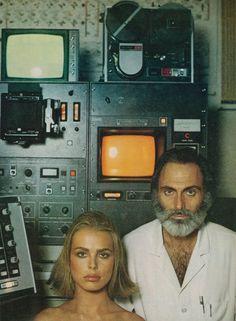 "Vogue US April 1975 ""Beauty That's Good for You"" Model: Margaux Hemingway Photographer: Francesco Scavul"