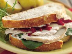 Roasted Turkey Sandwiches