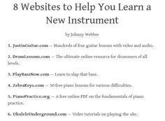 Supreme Learn Piano Fun And Easily Ideas. Phenomenal Learn Piano Fun And Easily Ideas. Life Hacks Websites, Hacking Websites, Useful Life Hacks, Simple Life Hacks, Cool Websites, Free Learning Websites, Free Guitar Lessons, Music Lessons, The More You Know