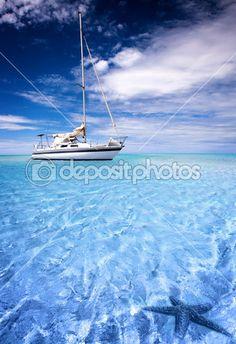 тропическая лагуна — Стоковое фото © kwest #5204123