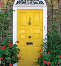 Make your front door stand out in your neighborhood! Rooms that Inspire From The Voice of Color®