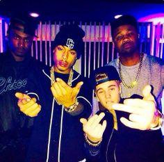 What I would do to hang out with the Biebs and Khalil