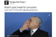 New York Times dá medalha de ouro para o Brasil no quesito corrupçao – leia isso - Blue Bus