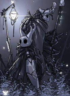 """""""Guard Post - Hollow Knight Fanart"""" by Viktória Majzik (Zummeng) Team Cherry, Ghost World, Hollow Art, Hollow Night, Knight Art, Dark Art, Character Art, Character Ideas, Wallpaper"""