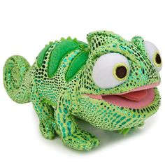 "Amazon.com: Disney Store Tangled Pascal Plush Stuffed Toy Doll: Original 8"" Green Chameleon: Toys & Games"