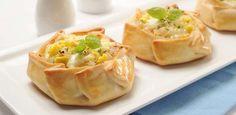 La Salteña | Recetas | Empanadas Abiertas de Humita a la Criolla