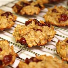 my favorite healthy treat - banana cookies. Yummy, healthy, chewy! Click for recipe