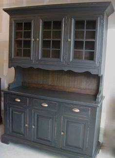 Vintage Country Hutch by MonetsAttic on Etsy, $595.00 *sigh* too far away :(