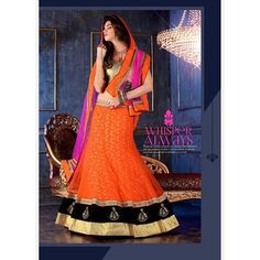 Designer Clothes, Shoes & Bags for Women Golden Lehenga, Indian Sarees Online, Present Day, Lehenga Choli, Contemporary Design, How To Look Better, Stylish, Lady, How To Wear