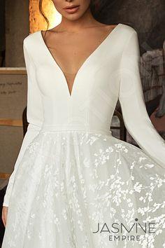 Individual size A-line silhouette Bonna wedding dress. Elegant style by DevotionDresses Individual size A-line silhouette Bonna wedding dress.