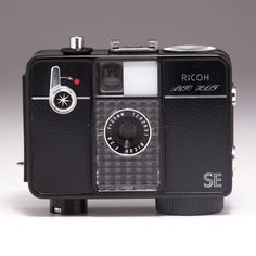 Ricoh Auto Half. Its a half-frame 35mm camera from the 60's.