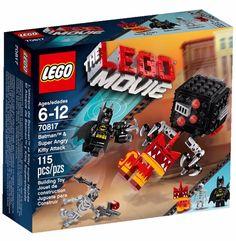 70817 LEGO Movie Batman & Super Angry Kitty Attack Set Box LEGO 2015